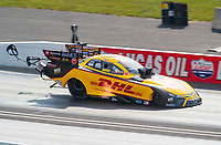 Sep 6, 2020; Clermont, Indiana, United States; NHRA funny car driver J.R. Todd during the US Nationals at Lucas Oil Raceway. Mandatory Credit: Mark J. Rebilas-USA TODAY Sports