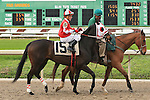 January 16, 2016: Tipthetrolleygirl with Kerwin D. Clark up in the Marie G. Krantz Memorial Stakes race at the Fairground race course in New Orleans Louisiana. Steve Dalmado/ESW/CSM
