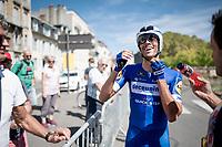 Eros Capecchi (ITA/Deceuninck - QuickStep) after finishing<br /> <br /> stage 10 (ITT): Jurançon to Pau (36.2km > in FRANCE)<br /> La Vuelta 2019<br /> <br /> ©kramon