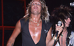 Vince Neil & Nikki Sixx at The Roxy in Hollywood Aug 1986.