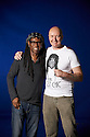 Nile Rodgers, Song Writer of Pop Music . Wrote Touched Like A Virgin for Madonna with Irving Welsh  at The Edinburgh International Book Festival   . Credit Geraint Lewis