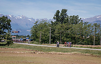 breakaway group attempt #1<br /> <br /> Stage 15: Valdengo › Bergamo (199km)<br /> 100th Giro d'Italia 2017
