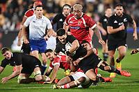 3rd July 2021, Auckland, New Zealand;  Quinn Tupaea.<br /> New Zealand All Blacks versus Tonga, Steinlager Series, international rugby union test match. Mt Smart Stadium, Auckland. New Zealand.
