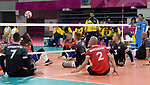 Austin Hinchey, Bryce Foster, and Mikael Bartholdy, Lima 2019 - Sitting Volleyball // Volleyball assis.<br />