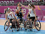 Maude Jacques and Danielle Duplessis, Lima 2019 - Wheelchair Basketball // Basketball en fauteuil roulant.<br />