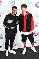 Jonas Blue and HRVY<br /> poses on the media line before performing at the Summertime Ball 2019 at Wembley Arena, London<br /> <br /> ©Ash Knotek  D3506  08/06/2019