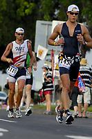 runners, 2007 Ford Ironman Triathlon World Championship,, Kailua Kona, Big Island, Hawaii, USA, Pacific Ocean