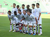 .Action photo of the USA team during game of the FIFA Under 17 World Cup game, held at  Torreon.