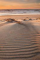 Surf beach sand dunes, Lompoc California