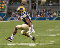 Pitt wide receiver Quadree Henderson (10). The Pitt Panthers defeated the Marshall Thundering Herd 43-27 on October 1, 2016 at Heinz Field in Pittsburgh, Pennsylvania.