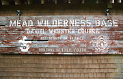 Mead Conservation Center at the end of Diamond Ledge Road in Sandwich, New Hampshire during the summer months.