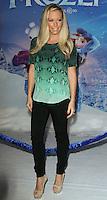 "HOLLYWOOD, CA - NOVEMBER 19: Kendra Wilkinson Baskett at the World Premiere Of Walt Disney Animation Studios' ""Frozen"" held at the El Capitan Theatre on November 19, 2013 in Hollywood, California. (Photo by David Acosta/Celebrity Monitor)"