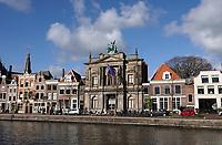 Nederland  Haarlem -  2020.   Het Teylers Museum aan het Spaarne.. Foto : ANP/ HH / Berlinda van Dam