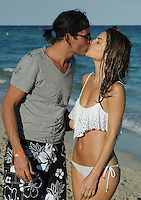 SMG_FLXX_Maria Menounos,_Kevin Undergaro_Wh_Bikini_NYE_123111_06.JPG<br /> <br /> MIAMI BEACH, FL - DECEMBER 31: The sexy 33-year-old television presenter Maria Menounos, looking sexy in a white bikini with boyfriend Kevin Undergaro.  Maria Menounos (born June 8, 1978) is an American actress, journalist, and television presenter known in America for her appearances as a correspondent for Today, Access Hollywood, Extra, and abroad for co-hosting the Eurovision Song Contest 2006 in Athens, Greece.  on December 31, 2011 in Miami Beach, Florida  (Photo By Storms Media Group)  <br /> <br /> People:  Maria Menounos,_Kevin Undergaro<br /> <br /> Transmission Ref:  FLXX<br /> <br /> Must call if interested<br /> Michael Storms<br /> Storms Media Group Inc.<br /> 305-632-3400 - Cell<br /> 305-513-5783 - Fax<br /> MikeStorm@aol.com