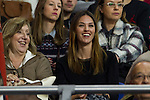 Helen Lindes during 2014-15 Euroleague Basketball match between Real Madrid and Galatasaray at Palacio de los Deportes stadium in Madrid, Spain. January 08, 2015. (ALTERPHOTOS/Luis Fernandez)
