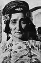 Iraq 1949? .Portrait of  Hapsa Khan, wife of sheikh Kader Barzinji   .Irak 1949.Hapsa Khan, epouse de Sheikh Kader Barzinji