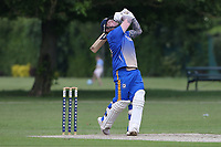 A Ison hits out for Upminster during Upminster CC vs Fives & Heronians CC, Hamro Foundation Essex League Cricket at Upminster Park on 5th June 2021