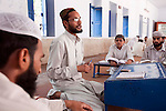 Asif Tahir Science and Islamic Studies teacher at the Jamianaeemia school which is a branch of the Bareldi sect of Sufi Islam in Lahore, Pakistan. The schools principal Sarfraz Ahmed Naeemi is part of an alliance formed by several moderate religious clerics to support the Pakistani Government in its fight against the Taliban in Swat and is teaching its new ideas in the schools.