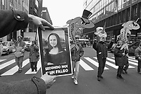 - Milan, trade-union demonstration against the government Berlusconi (November 1994) ..- Milano, manifestazione sindacale contro il governo Berlusconi (novembre 1994)