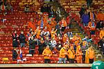 A few Dutch fans here