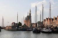 Nederland  Hoorn- September 2020 .  De Hoodtoren en de Veermanskade.   Foto : ANP/ Hollandse Hoogte / Berlinda van Dam
