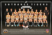 The Entrance Tigers pose for their 2017 Team Photo in the Arthur Lake Room at The Entrance Leagues Club in Bateau Bay, NSW Australia (Photo by Paul Barkley/LookPro)