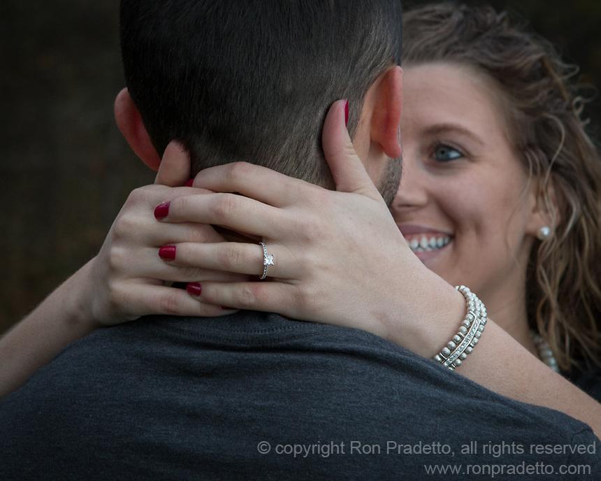 Liz & Daniel's engagement session at Mingo Creek State Park in Findleyville, PA on October 22, 2014.