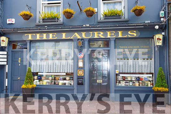 John T Bennett and John Lennon quotes on The  Laurels bar window