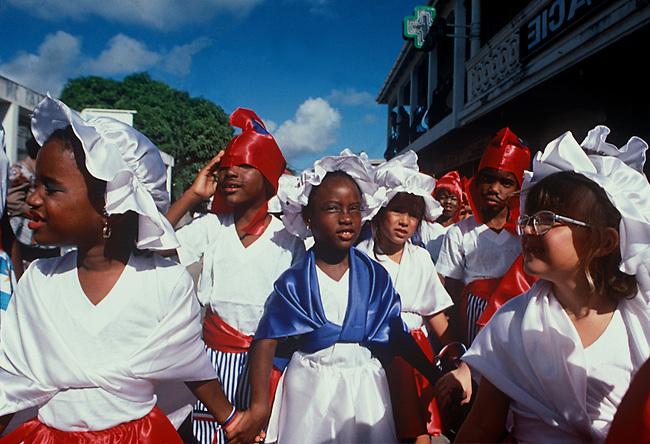 Mardi Gras Carnival, Marigot, St-Martin, French West Indies