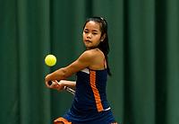 Wateringen, The Netherlands, March 9, 2018,  De Reijenhof , NOJK 12/16 years, Chayenne Kasan (NED)<br /> Photo: www.tennisimages.com/Henk Koster