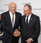 Barry Diller and Michael Bloomberg attends the Lincoln Center Honors Stephen Sondheim at the American Songbook Gala at Alice Tully Hall on June 19, 2019 in New York City.