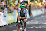 Daniel Oss (ITA) Bora-Hansgrohe crosses the finish line of Stage 11 of the 2019 Tour de France running 167km from Albi to Toulouse, France. 17th July 2019.<br /> Picture: Colin Flockton   Cyclefile<br /> All photos usage must carry mandatory copyright credit (© Cyclefile   Colin Flockton)
