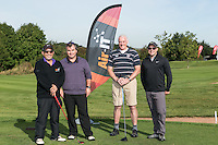 Team Air IT - from left are Todd McQuilkin, Adam McQueen, Peter Cook and Simon Leadley