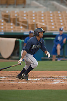 Seattle Mariners left fielder DeAires Moses (31) during a Minor League Spring Training game against the Los Angeles Dodgers at Camelback Ranch on March 28, 2018 in Glendale, Arizona. (Zachary Lucy/Four Seam Images)