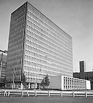 Pittsburgh PA:  View of the new State Office Building in Pittsburgh.  The building was part of the Renaissance 1 development of the Point area.  The building was sold in 2009 to save the State money.