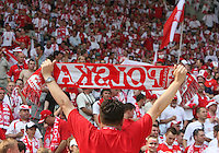 Polish fan. Poland defeated Costa Rica 2-1 in their FIFA World Cup Group A match at FIFA World Cup Stadium, Hanover, Germany, June 20, 2006.