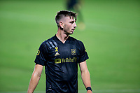 CARSON, CA - SEPTEMBER 06: Tristan Blackmon #27 of LAFC during a game between Los Angeles FC and Los Angeles Galaxy at Dignity Health Sports Park on September 06, 2020 in Carson, California.