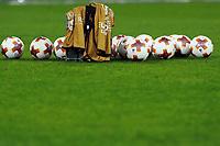 Palloni della Europa League, balls  <br /> Napoli 15-02-2018 Stadio San Paolo<br /> Football Calcio UEFA Europa League 2017/2018<br /> Napoli - Leipzig / Napoli - Lipsia<br /> Sedicesimi finale andata, Round of 32 1st leg<br /> Foto Cesare Purini / Insidefoto