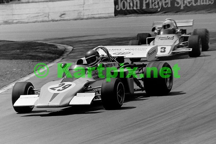 Mike Beuttler Greater London International Trophy 1972<br /> European Championship for Formula 2 Drivers ,Round 5<br /> John Player British Formula 2 Championship, Round 4