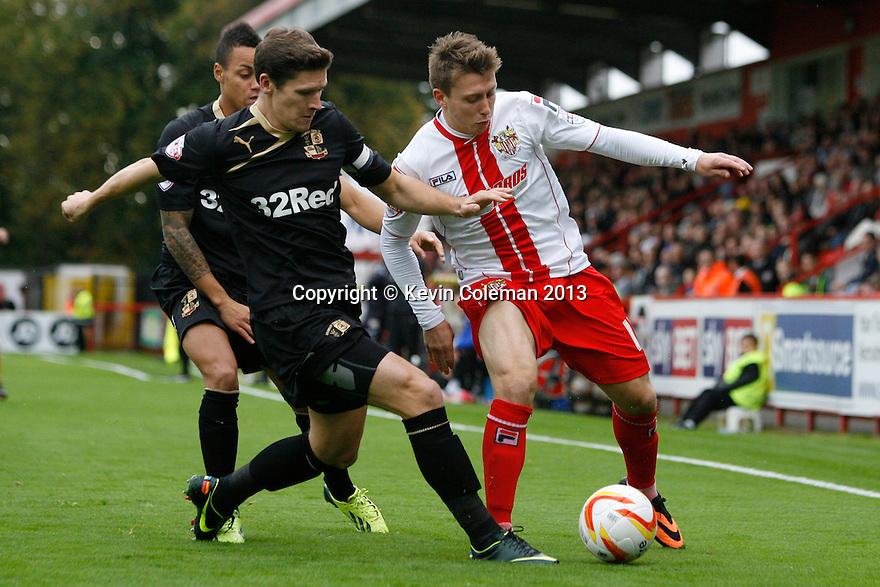 Luke Freeman of Stevenage battles with Josh Simpson of Crawley<br />  - Stevenage v Crawley Town - Sky Bet League 1 - Lamex Stadium, Stevenage - 26th October, 2013<br />  © Kevin Coleman 2013<br />  <br />  <br />  <br />  <br />  <br />  <br />  <br />  <br />  <br />  <br />  <br />  <br />  <br />  <br />  <br />  <br />  <br />  <br />  <br />  <br />  <br />  <br />  <br />  <br />  <br />  <br />  <br />  <br />  <br />  <br />  <br />  <br />  <br />  <br />  <br />  <br />  <br />  <br />  <br />  <br />  <br />  <br />  <br />  <br />  <br />  <br />  <br />  <br />  <br />  <br />  <br />  - Crewe Alexandra v Stevenage - Sky Bet League One - Alexandra Stadium, Gresty Road, Crewe - 22nd October 2013. <br /> © Kevin Coleman 2013