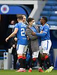 06.03.2021 Rangers v St Mirren: Ianis Hagi and Jermain Defoe