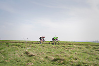 Ryan Mullen (IRE/Cannondale-Drapac) & Berden de Vries (NED/Roompot) trying to break free<br /> <br /> 60th E3 Harelbeke (1.UWT)<br /> 1day race: Harelbeke › Harelbeke - BEL (206km)