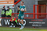 Rob Milsom of Sutton United during Crawley Town vs Sutton United, Sky Bet EFL League 2 Football at The People's Pension Stadium on 16th October 2021