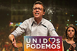 Spanish politician Inigo Errejon of Unidos Podemos party, after the results of the national elections at plaza Reina Sofia, Spain. 26,06,2016. (ALTERPHOTOS/Rodrigo Jimenez)