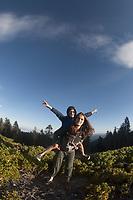 Eliza & Max, Mt. Ashland, Rogue River–Siskiyou National Forest, Oregon, US