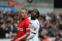 Pictured: Jason Scotland of Swansea City <br />