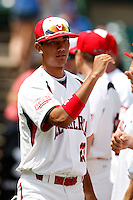 August 8, 2009:  Infielder Sean O'Brien (23) of Team One during the Under Armour All-America event at Wrigley Field in Chicago, IL.  Photo By Mike Janes/Four Seam Images