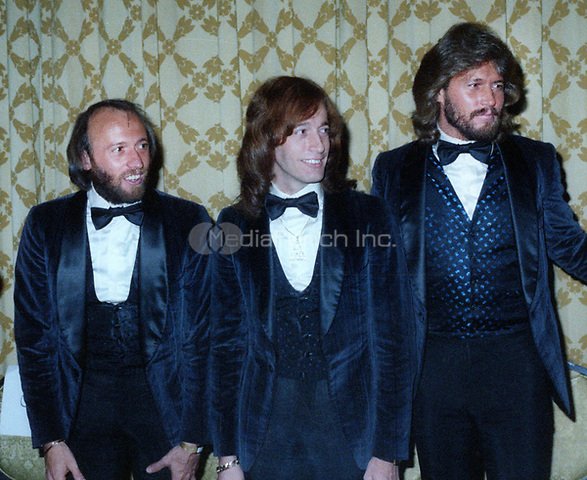 Maurice Gibb, Robin Gibb and Barry Gibb Barry Gibb at the American Music Awards n January 12, 1979<br /> Photo By John Barrett/PHOTOlink /MediaPunch