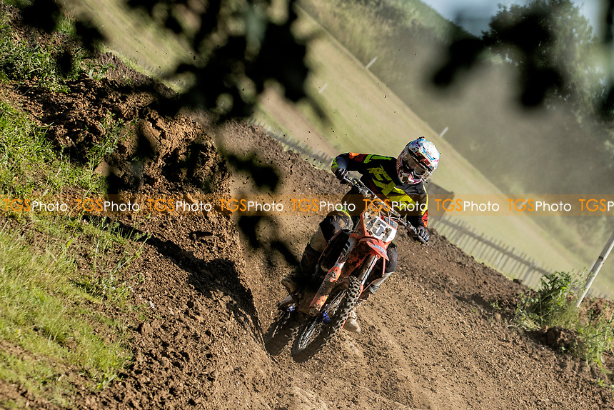 David Farrant win the NGR Championship during the Richard Fitch Memorial Trophy Motocross at Wakes Colne MX Circuit on 18th July 2021