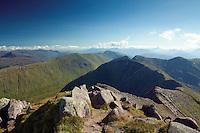 Drochaid Ghlas from the Munro of Ben Cruachan, Argyll & Bute